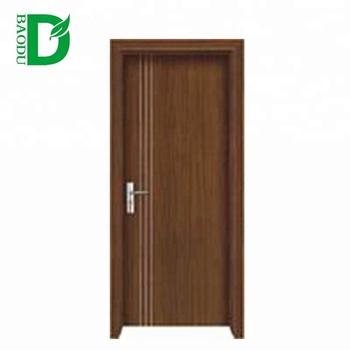 Toilet Door Design Pvc Wooden