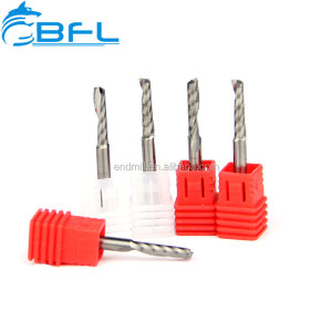 BFL-Carbide Shell One Flute Endmill Cutter For Acrylic/Acrylic Groove Cutter Bits/Milling Cutter For Plastic