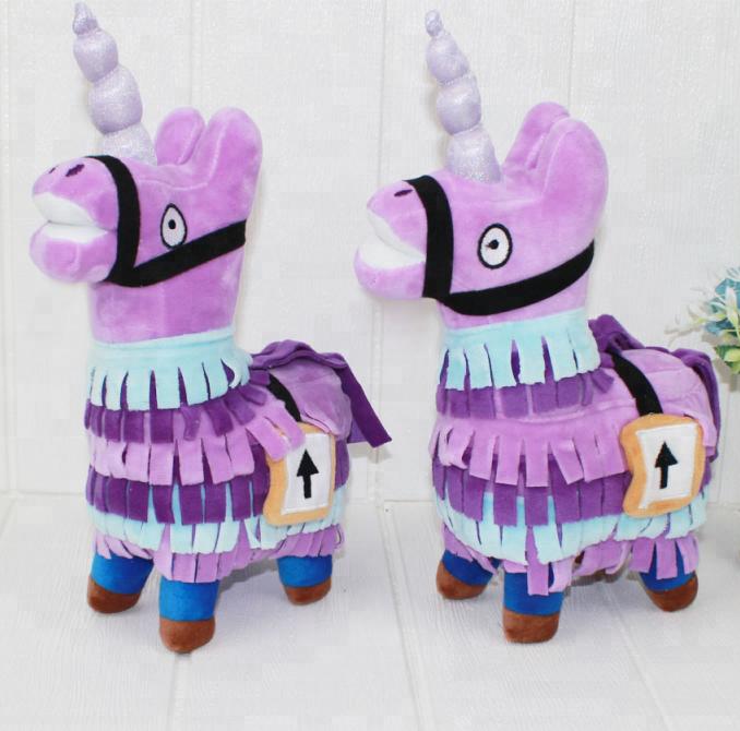 30cm Fortnite Unicorn Troll Stash Llama Plush Toy Alpaca Unicorn