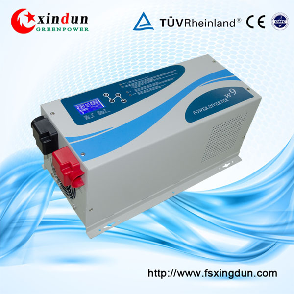 wall mounted 50HZ/60HZ 12V 220V solar panel power inverter 3000W with pure sine wave output