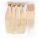 Wholesale 613 Blonde Straight Hair Weave 100% Virgin Brazilian Human Hair