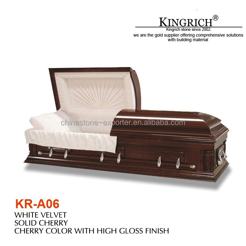 American style caskets funeral coffin prices, wooden and cardboard coffin
