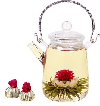 Beautiful blooming tea,flowering tea ball,different kinds of blooming tea ball