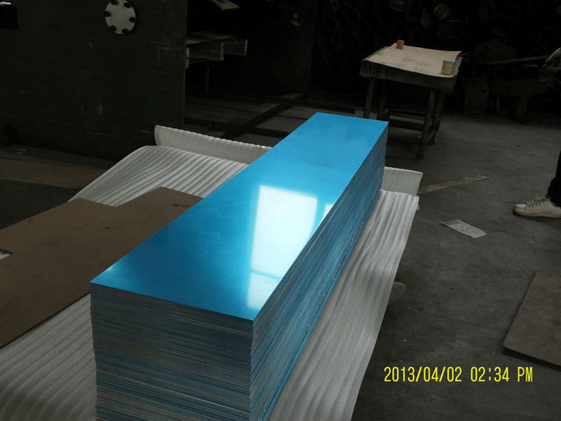 High Quality Polished Aluminum Mirror Sheet Manufacturing