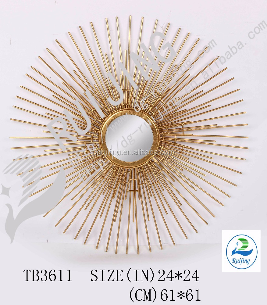 Wire capiz sunburst wall mirror - Sunburst Mirror Sunburst Mirror Suppliers And Manufacturers At Alibaba Com