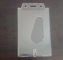 Peerless 1 шт. пластиковый прозрачный жесткий выдвижной держатель для карт бизнес кредитный ID держатель для карт для настольного органайзера(Китай)