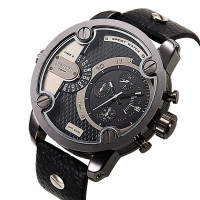 Top Sale North Japan Movt Quartz Wrist Watch Men Fashion Leather Sport Watch 2019 from China Factory