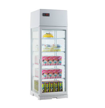 80L Glass Door Fridge For Drinks