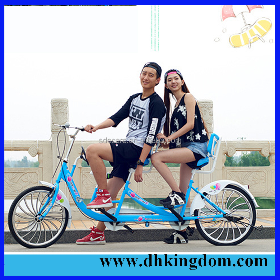 Tandem Bike 26 with aluminium frame for sale