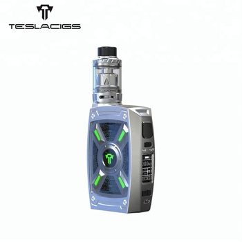 Newest ecigs kit Dual hi-rate 18650/20700/21700 Teslacigs XT 220W vape box mod kit
