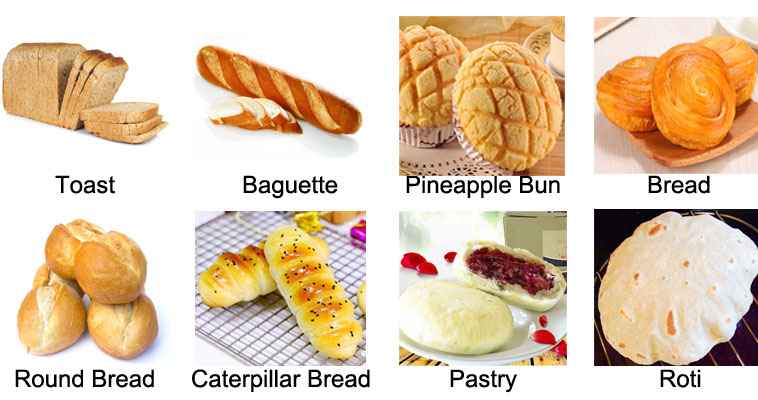 Industriële Brood Maken Van Machines/franse Brood Bakkerij Apparatuur