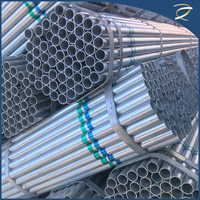 galvanized round pipe / galvanised pipes /glass water pipes