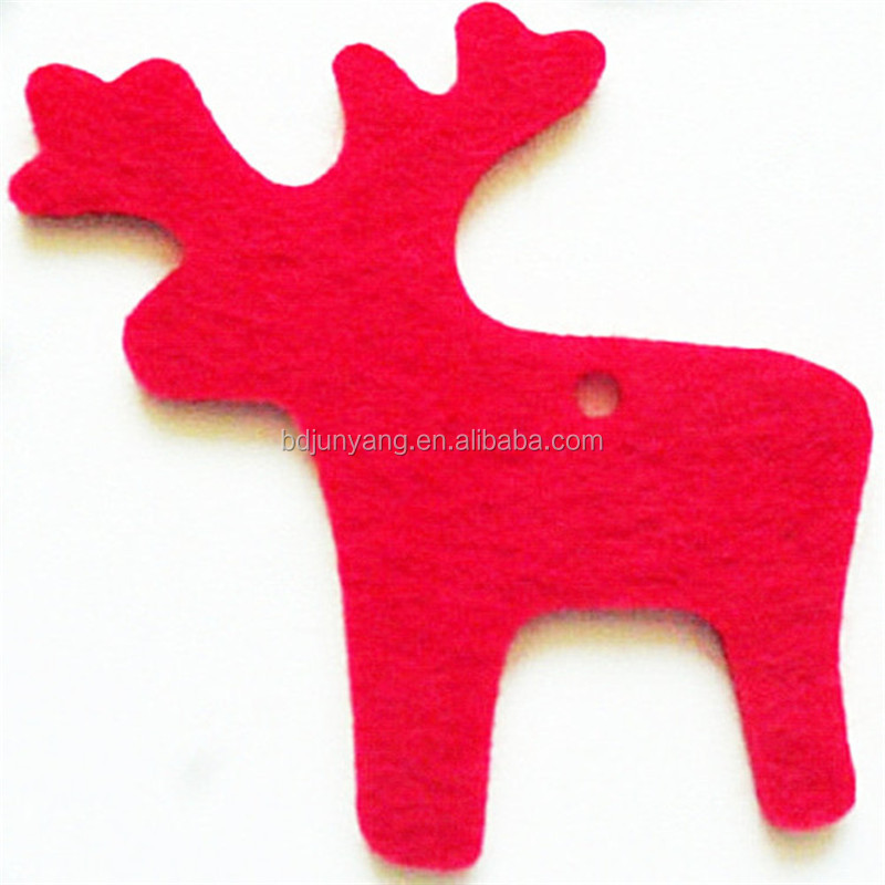 funny christmas crafts small felt hanging Xmas decoration