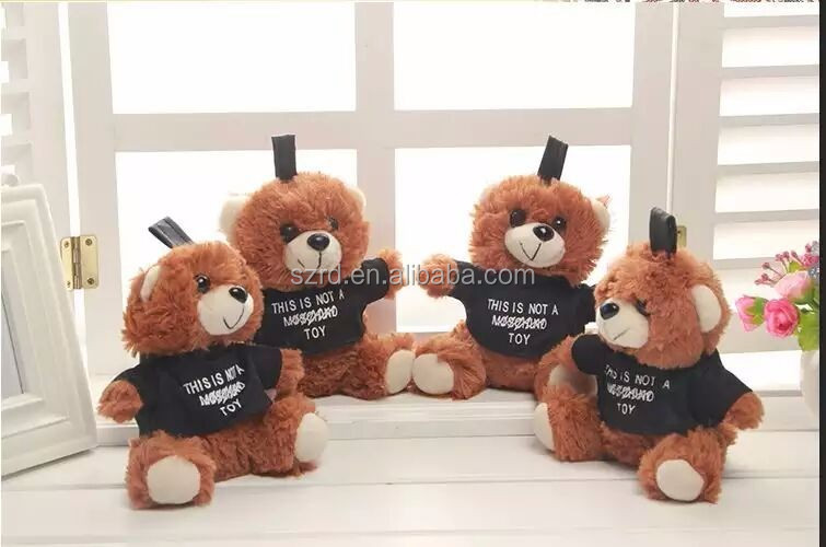 2017 Plush toy Cute teddy bear with high quality best kids gift colorful animal plush bear stuffed plush cheap valentine toy