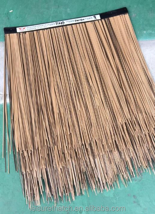 Cheap Water Reed Thatch For Roof Decoration Synthetic thatch