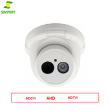 Indoor 720p-1080p HD Camera, High Quality 1pcs Array Ir Led Ahd Dome Camera,Waterproof Oem Cctv Security Camera+Plastic Case