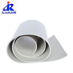 manufacturer white color SBR rubber sheet