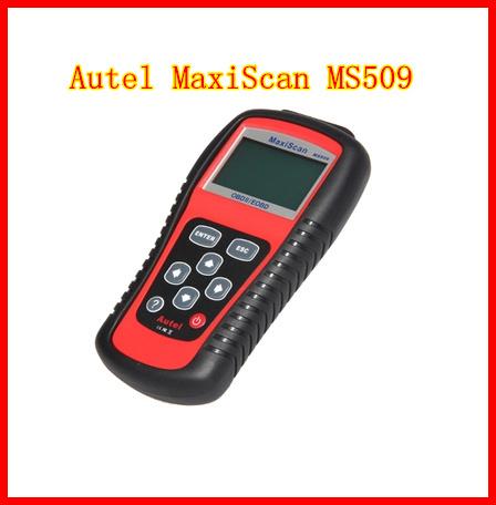 Autel MaxiScan MS509 OBDII / EOBD авто-код читателя работа для сша азиатских и европейских автомобилей