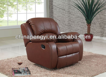 Home Furniture Power Swivel Recliner Chair Leather Sofa