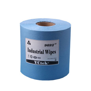 Disposable Industrial Nonwoven Fabric Cleaning Wipes With High Absorbent