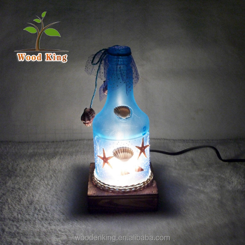 Students Friends Colleagues Gifts Creative Romantic Ocean Style Wholesale Wood Pendant Home Decoration Decorative Lamp