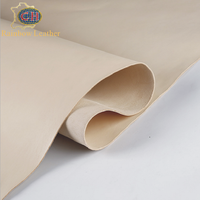 China Supplier Italianism 1.1-3.5MM Thickness Vegetable Tanned Top Layer Cowhide Leather for Sale