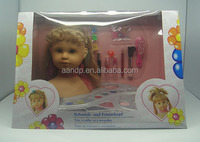 doll with cosmetic