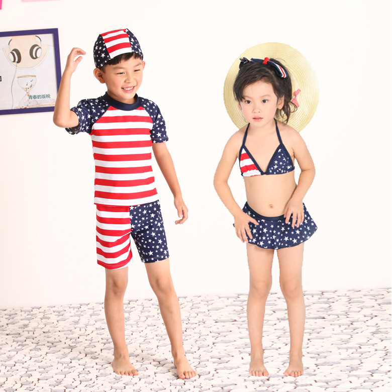 Get Quotations · New Childrenu0027s Swimwear Summer Style Cute Children Stars Pattern Striped Girls Swimsuit Kids Girl Fashion Swimming  sc 1 st  Alibaba & Cheap Girls Kids Swimsuit find Girls Kids Swimsuit deals on line at ...