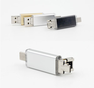 3 in 1 USB 2.0 OTG Type C Flash Drive Memory Stick Pen 64gb Storage
