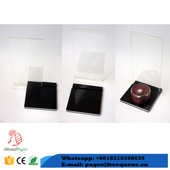 Other Restaurant Supplies Acrylic Table Number Holder Buy Table - Table numbers restaurant supplies