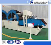 High recovery rate silica sand washing and recycling machine with separators for sale