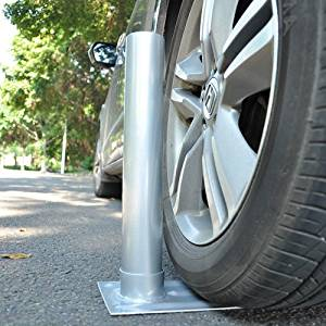 "JNX 2.4"" D. Metal Tire Mount Tailgate Wheel Stand Flag Pole Pole Holder 25' 20' FT"