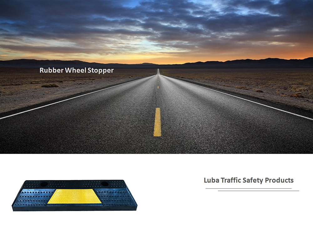 550*150*100mm Wheel Stopper Car Stops