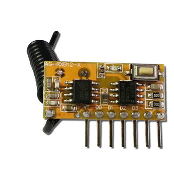 ASK superheterodyne RF transmitter and receiver module 315 MHz / 433.92 MHz data transmitter and receiver radio receiver