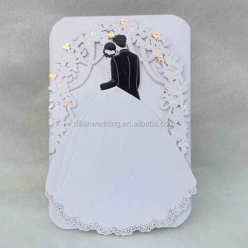 Handmade 3d Wedding Invitation Card 3d Wedding Card Design