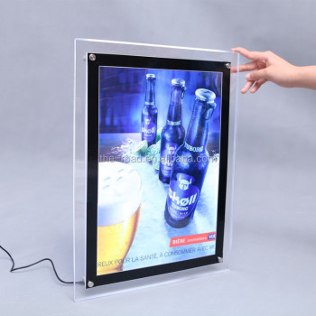 a0 a1 a2 a3 a4 Size Slim Light Box Single Sided Crystal Led Light Box