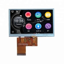 Resistiven Touchscreen 480x272 Display 40Pin 4,3 zoll TFT <span class=keywords><strong>LCD</strong></span> Modul