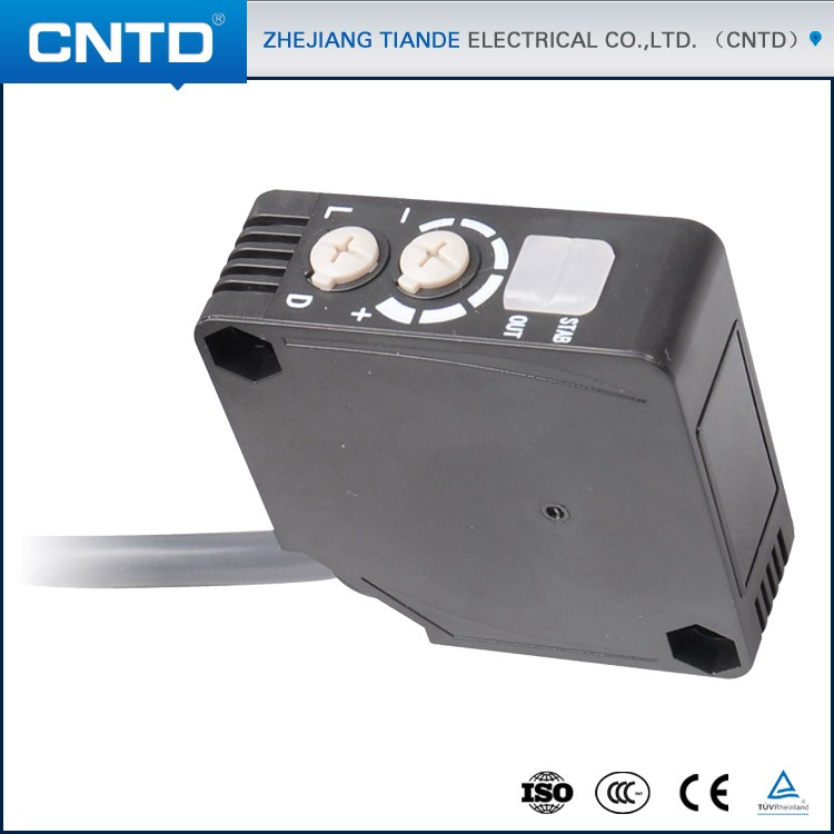 CNTD New Procucts High Reliability Photoelectric Switch Square Type CGF50E-D