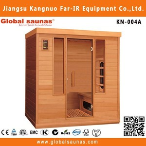 salt therapy infrared sauna room