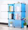 Migic PP Panels Waterproof Plastic Wall Mounted Book Rack