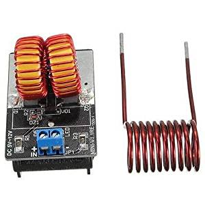 5v ~ 12v Miniature ZVS Induction Heating Power Supply Module + Heater Coil New