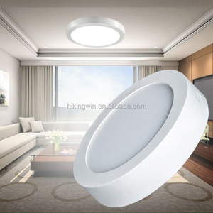 24W 18W 36W 48W 12W 6W ip65 housing round 30x30 cm surface mounted led panel light