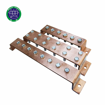 ISO9001 Factory Made Electricity Use 99.9% Pure Copper Busbar