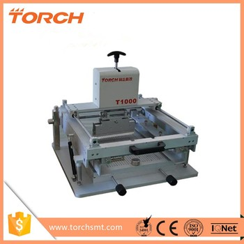 Manual Screen Printer For Solder Paste,Smt Screen Printing Equipment,Pcb  Printing Assembly Machines - Buy Smt Printing Machine,Cylindrical Screen