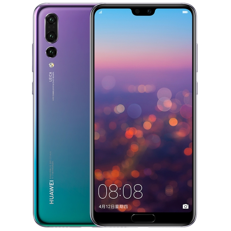 High quality Huawei P20 Pro CLT-AL01 ram6GB 64GB Triple Back Cameras Fingerprint Identification 6.1 inch Full Screen smartphone