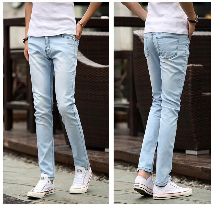 Denim Skinny Male Light Teenage 59Dhgate Pants Elastic Popular 2019 From com Jeans Blue Jiuwocute25 35jqA4RL