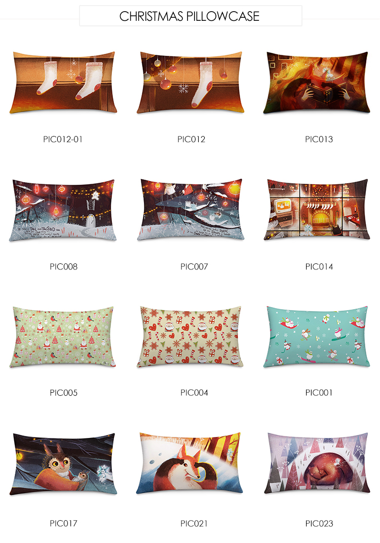 Decorative Pillow Case Sofa Wholesale Custom Printed Pillowcase For Home