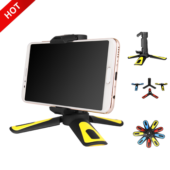 New Travel Portable Tabletop Universal Cell Flexible Aluminum Mini Mobile Phone Camera Tripod for Smartphone