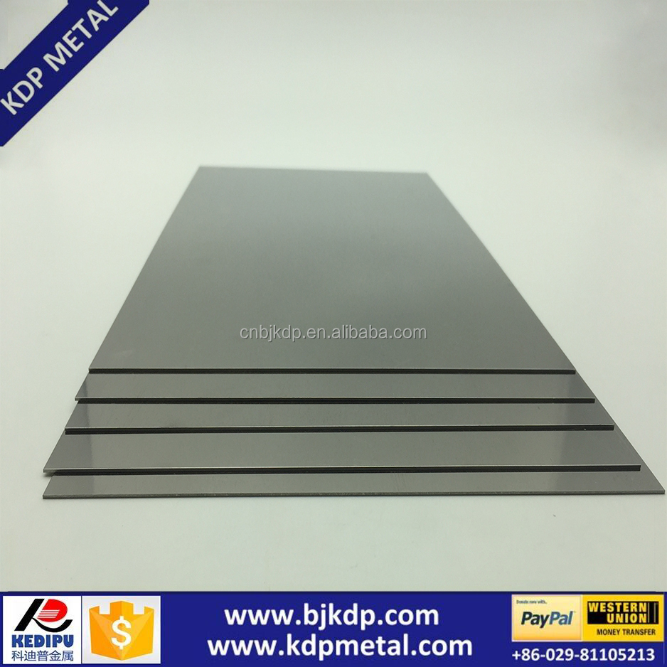 Annealed Pure 99.95% Tungsten Sheets/ Tungsten Plates For Sale