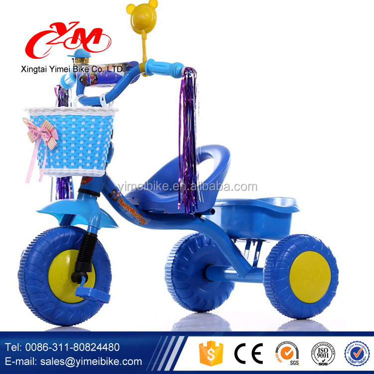 632d1c90c59 Small Little Kids Metal Tricycle With Basket/china Factory Supply Children  Tricycle Toddler/wholesale Baby Tricycle For Hot Sale - Buy Kids Metal  Tricycle ...